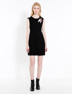 Cotton appliqué dress