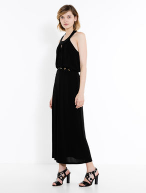 Jersey halterneck dress