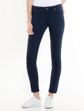 Cotton satin trousers