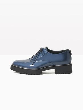 Scarpe Oxford di pelle glossy