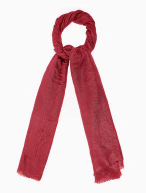 Lamé gauze scarf