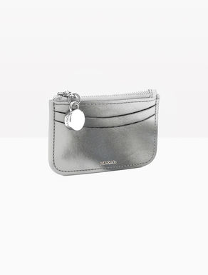 Double leather coin purse