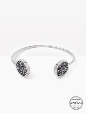 Bracelet avec pavé de cristaux