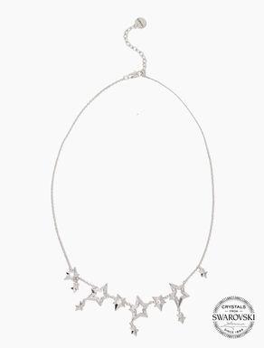 Collier à étoiles et micro-cristaux