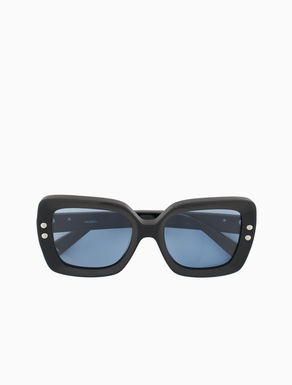 Acetate square glasses