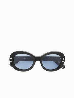 Acetate oval glasses