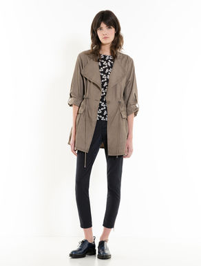 Unstructured cotton field jacket