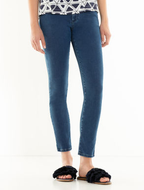 Jean coupe jegging « stone wash »