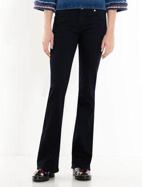 Bootcut-Jeans in Blau