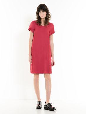 Kleid in A-Linie mit Schleife