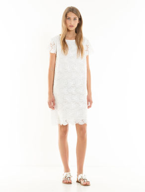 Broderie anglaise and muslin dress