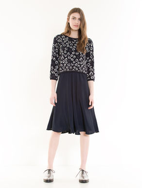 Dress with matching jumper