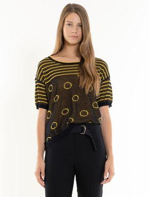 Reversible jacquard jumper