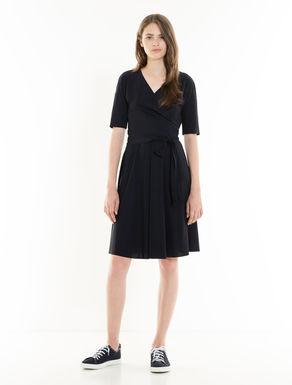 Kleid aus leichtem technischem Jersey