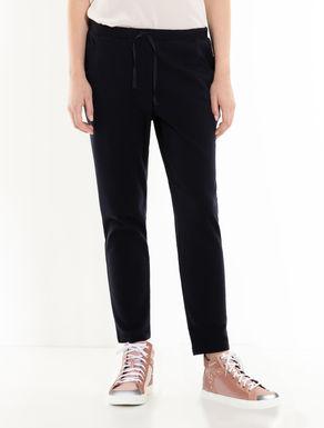 Pantaloni di jersey con coulisse