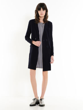 Light jersey coat