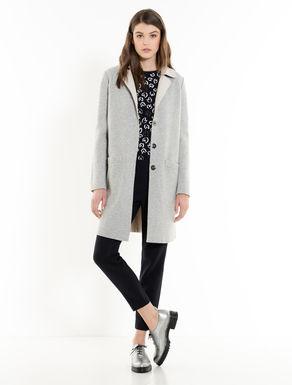 Reversible two-tone coat