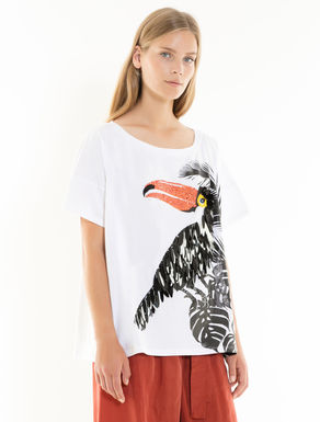 Oversize printed T-shirt