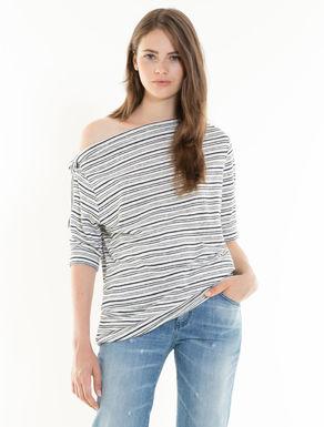 T-shirt en jersey de lin