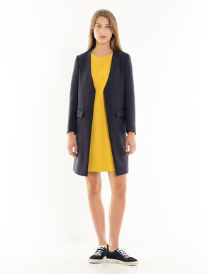 Double-weave overcoat