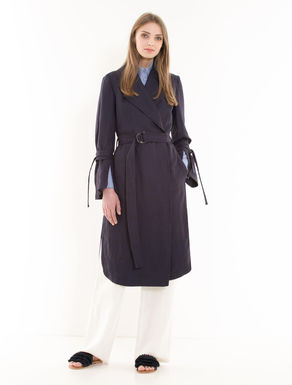 Cavalry twill trench coat