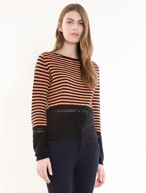Raised stitch jumper