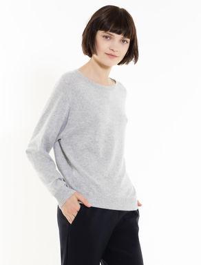 Round neck cashmere jumper