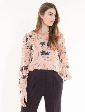 Camisa de georgette