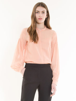 Bluse aus Georgette