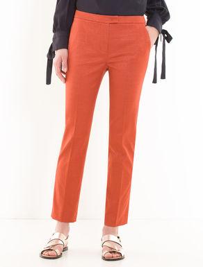 Pantaloni slim jacquard