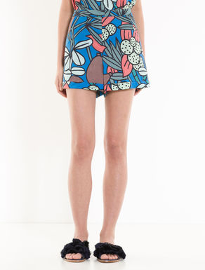 Shorts in popeline di cotone
