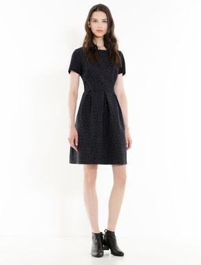 Lamé jacquard Corolla dress