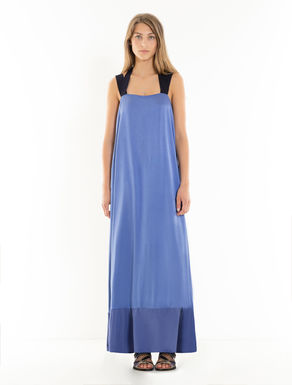 Long envers satin dress