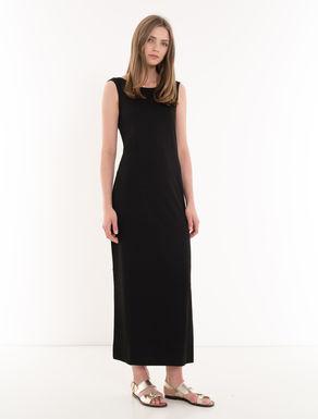 Long stretch jersey dress