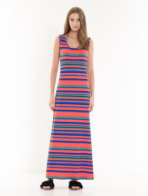 Long stretch jersey dress