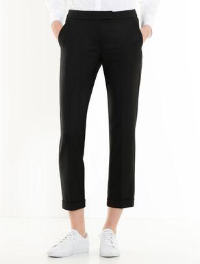 Pantaloni slim di tessuto stretch