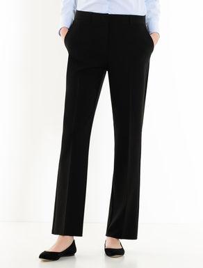 Pantaloni straight fit stretch