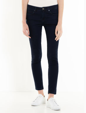 Blaue Jeans in Skinny Fit