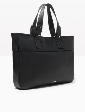 Oversize tumbled shopper