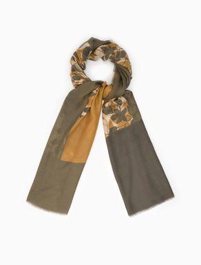 Floaty gauze scarf