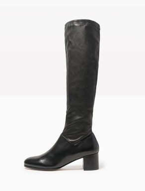 Botas de napa lisa y stretch