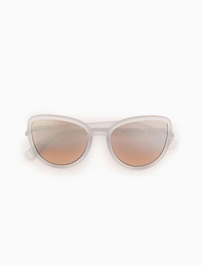 Butterfly smoked sunglasses