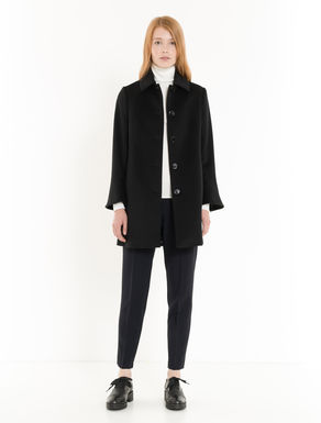 Pure wool drap coat