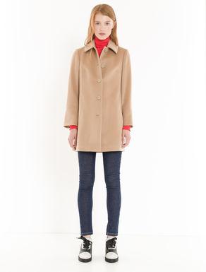 Pure wool drap coat