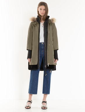 4-in-1 down parka