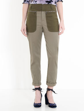 Moleskin and cavalry twill trousers