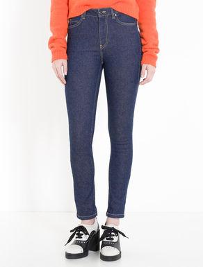 Jean coupe skinny bleu