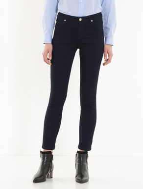 Blue extra-skinny-fit jeans