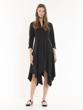 Gabardine scarf dress