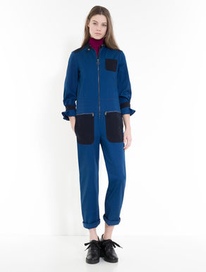 Moleskin and cavalry twill jumpsuit